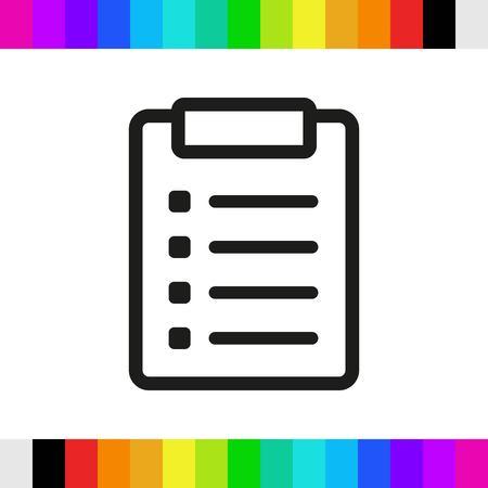 icon: icon stock vector illustration flat design style Illustration