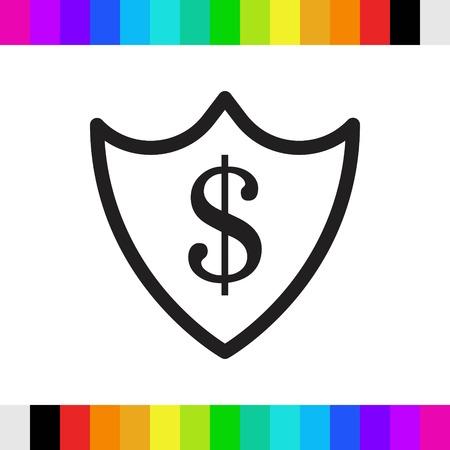icon stock vector illustration flat design style Illustration