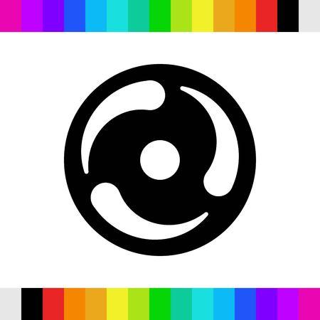 icon stock vector illustration flat design style Stock Photo
