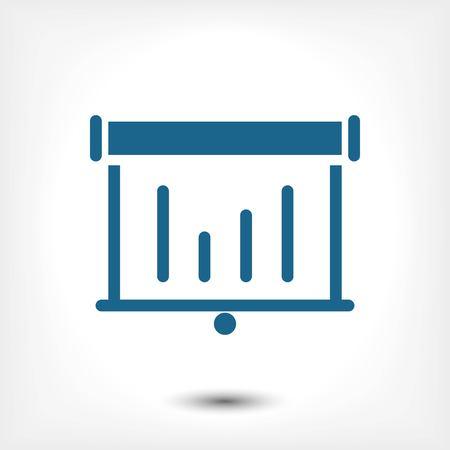 spokesman: icon stock vector illustration flat design style Illustration