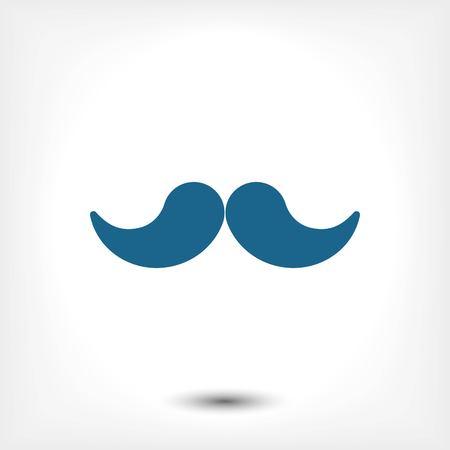 hair mask: icon stock vector illustration flat design style Illustration