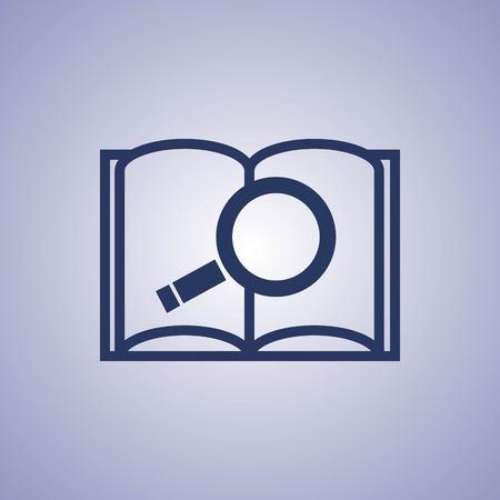 finding: icon stock vector illustration flat design style Illustration