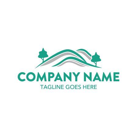 Landscape Logo Illustration