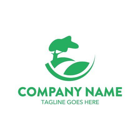 Landscape Logo Иллюстрация