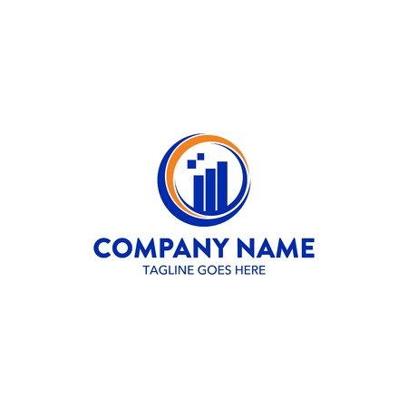 Accounting Logo Template Ilustracja