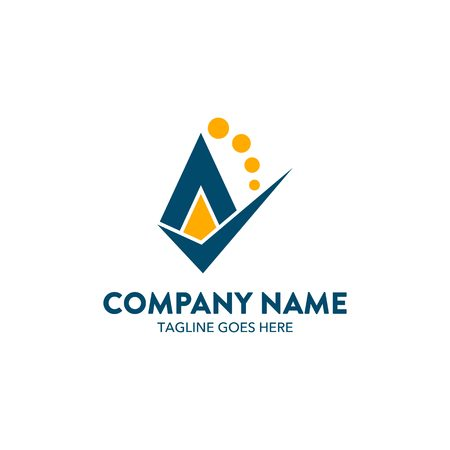 Accounting Logo Template Ilustracja