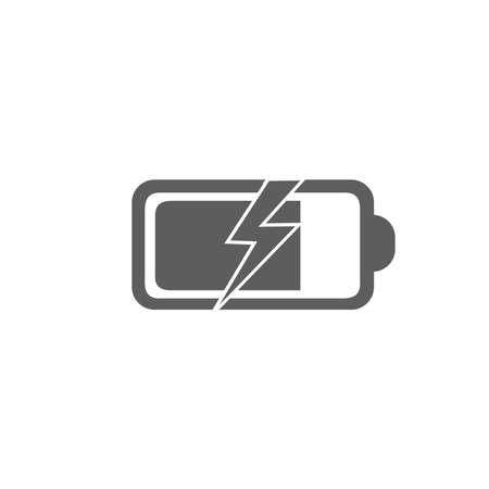 Battery Charging Icon Иллюстрация