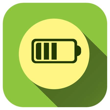 Battery icon vector logo for your design, symbol, application, website, UI