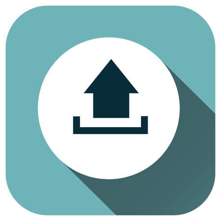Arrow icon, Vector logo for design, symbol, application, website, UI