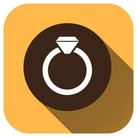 Wedding rings icon vector logo for your design, symbol, application, website, UI.