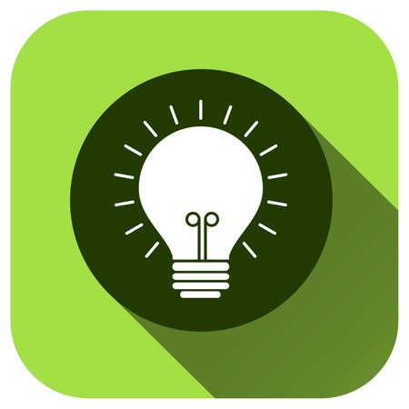 Lamp icon, vector logo for design, symbol, application, website, UI Logo
