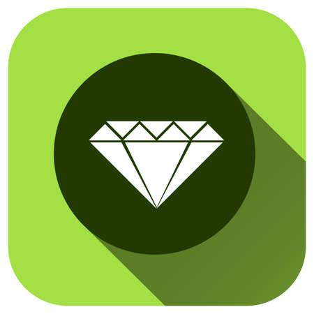 Diamond icon vector logo for design, symbol, application, website, UI Illusztráció