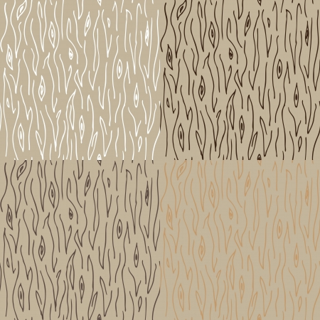 seamless wood texture pattern Vector