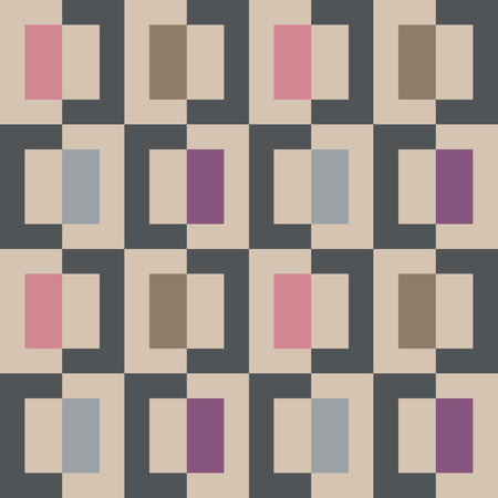Seamless abstract geomatric pixel square pattern