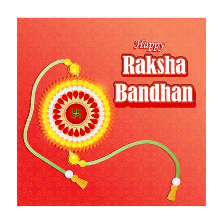 vector illustration for Indian festival Raksha Bandhan means Raksha Bandhan Vektoros illusztráció