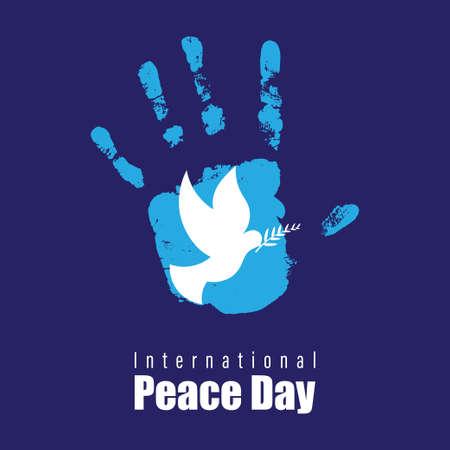 vector illustration for World Peace day Vector Illustration