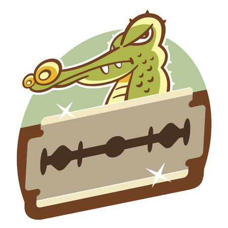 grinding teeth: Crocodile teeth grinding like iron, capable of cutting the object as hard as steel.