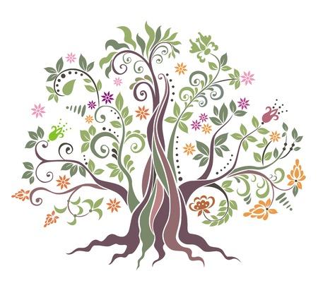 Tree.  Ilustrace