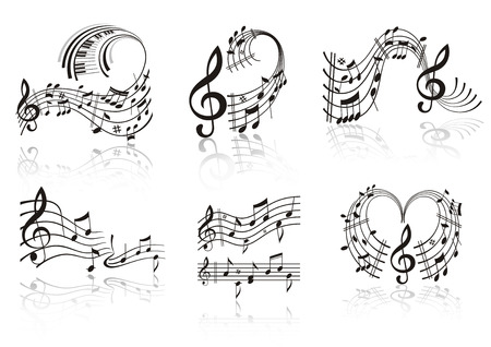 Music note. Stock Vector - 8082131
