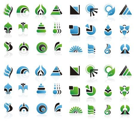 Set of design elements. Vector
