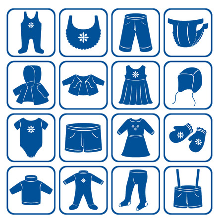 trouser: Child clothes set.