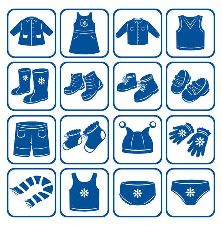 sundress: Child clothes set.