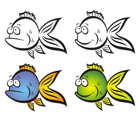 poisson rigolo:  Dr�les de poissons.