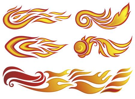 Fire. Ilustracja