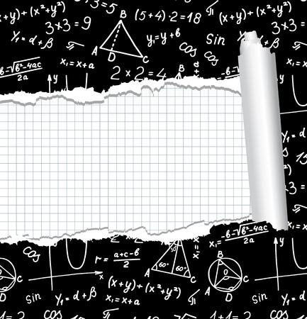 Algebra. Geometry. Abstract background. Stock Vector - 8082245