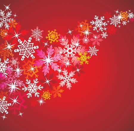symmetry: Christmas background.