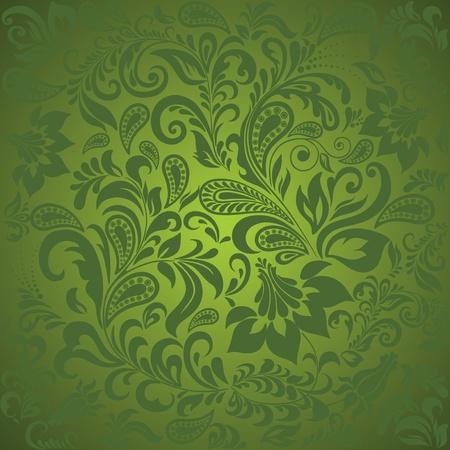 Paisley seamless background.