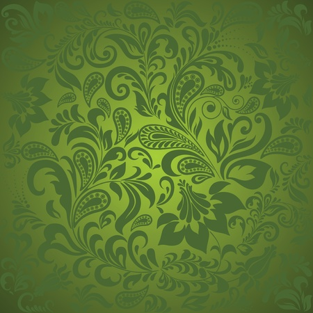 Paisley seamless background.  Vector