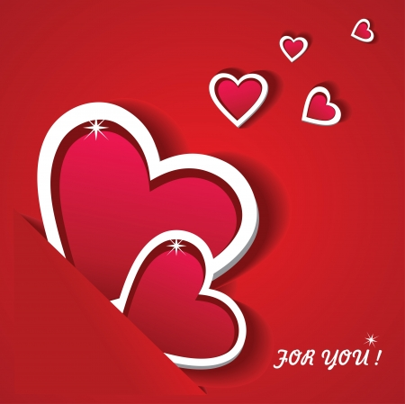 love image: The Valentines Day  Greeting card