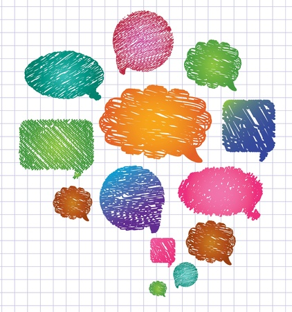 talk to the hand: Vector Bubbles for Speech.