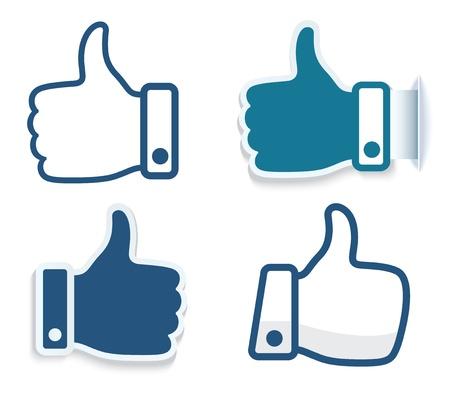 Hand icon. Vector