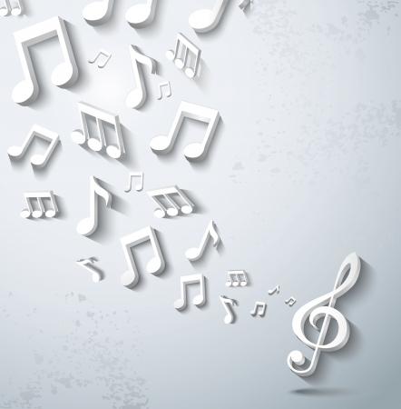 musical notes: Resumen de m?a de fondo.