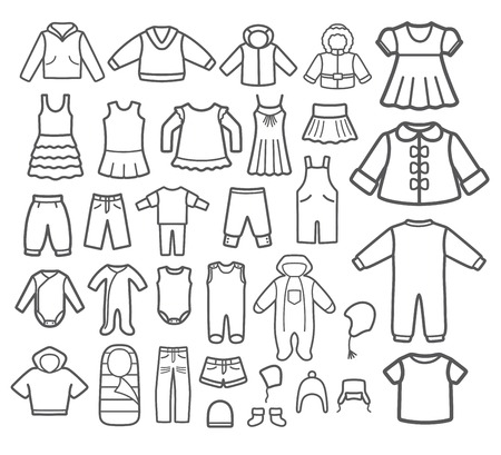 Set of Children clothing