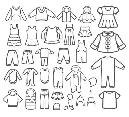 Set of Children clothing