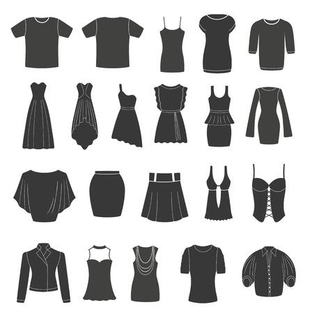 sexy image: Set of women s   men s clothing