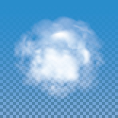dust cloud: Fog , smoke and cloud isolated transparent special effect. Vector cloudiness, mist and smog background.