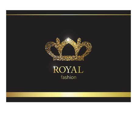 Luxury label, emblem or packing for Logo design. Illustration