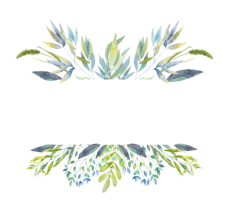 Spring and summer frame. Floral background for invitation, wedding, greeting cards, banners, decorations.