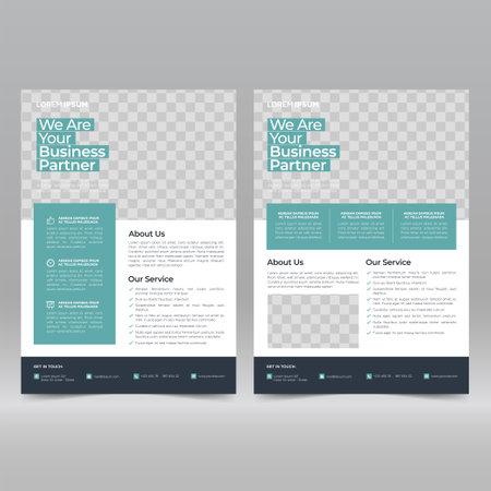Corporate Poster, Flyer Design Template Vetores