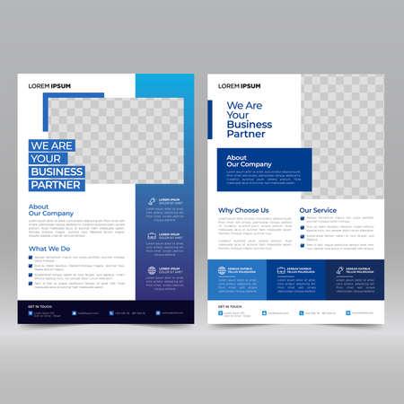 Corporate Poster, Flyer Design Template Vector Illustratie