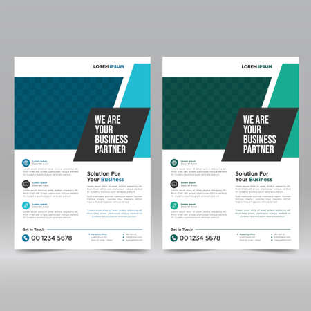 Corporate Poster, Flyer Design Template