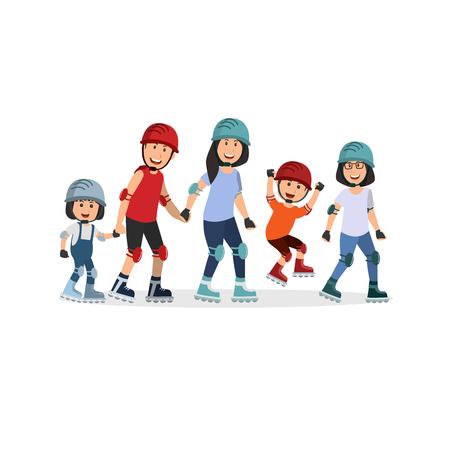 family roller skate
