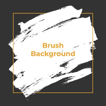 Brush Background Grunge Texture Vector Template