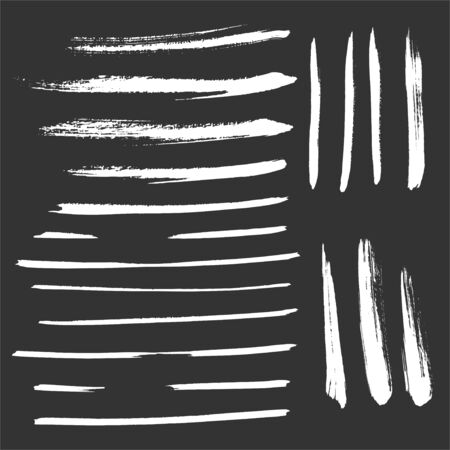 Brush Vector Set Strokes Grunge Effect Collection