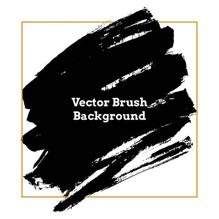 Vector Brush Background Strokes Texture