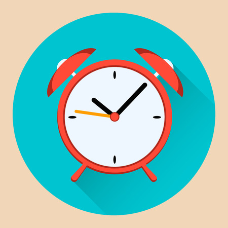 vector illustration icon alarm clock